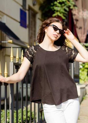 Черная футболка от dorothy perkins🔶🔸
