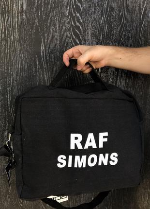 Сумка-рюкзак raf simons