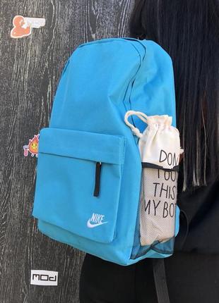 Спортивный рюкзак бирюзовый