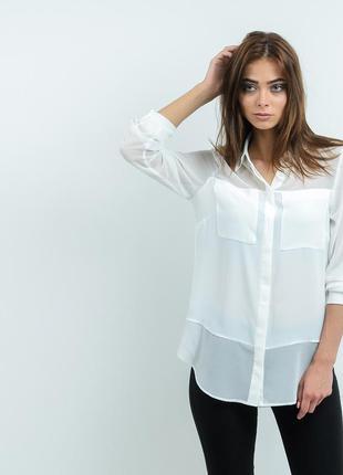 Белоснежная блуза m&s