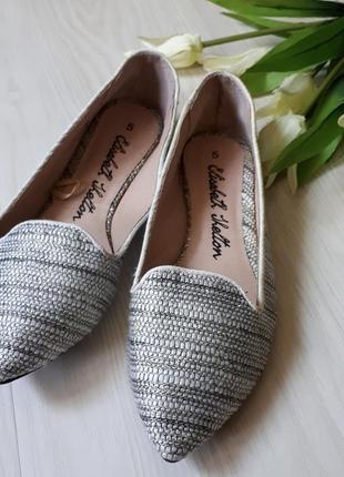 Текстильные туфли лодочки,балетки, эспадрильи,мюли,босоножки, без каблук