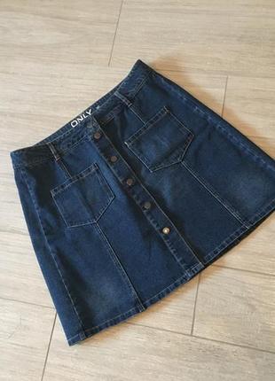 Только до 20.12! джинсовая короткая мини - юбка (бесплатная доставка)