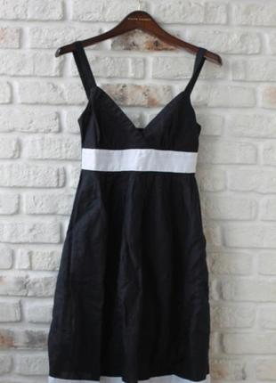 Платье marks&spencer. лен-коттон.