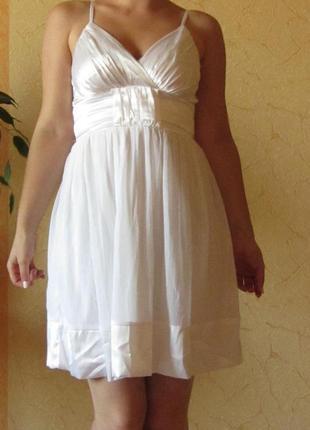 Летнее короткое платье сарафан bonprix