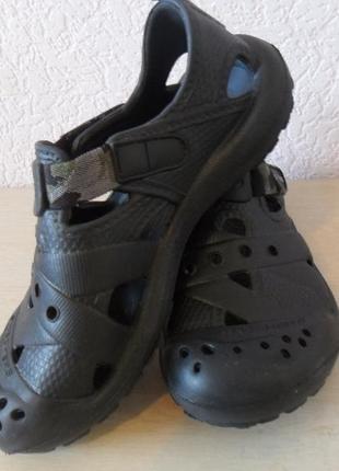 Резиновые сандали, сланцы skechers