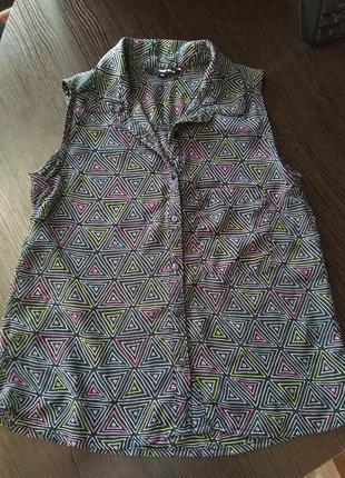 Лёгкая шифоновая блузочка