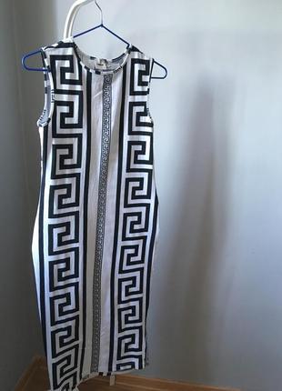 Платье миди по талии asos
