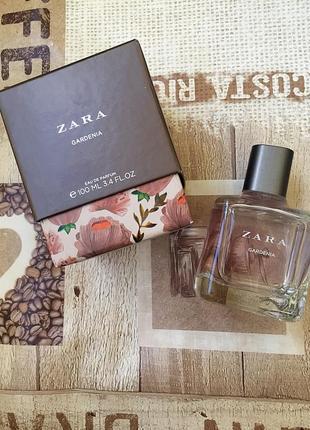 Парфуми zara gardenia