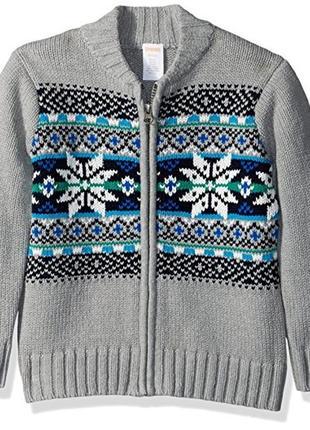 Кофта свитер для мальчика 4-5 лет gymboree