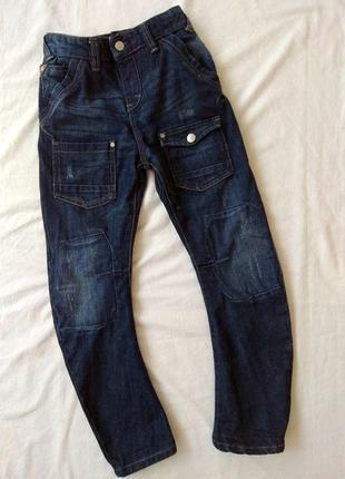 Крутые джинсы next, 10 лет, джинсовые брюки