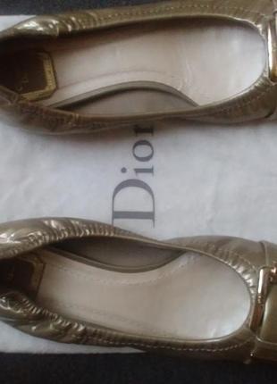Стильні балетки ( оригінал dior)