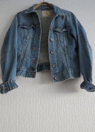 Крута джинсова куртка h&m