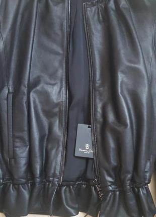 Massimo dutti куртка - кожа