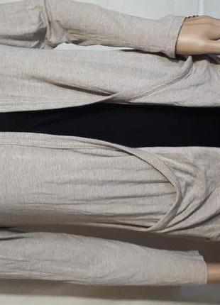 Кардиган женский светлый накидка с карманами пиджак new look распродажа