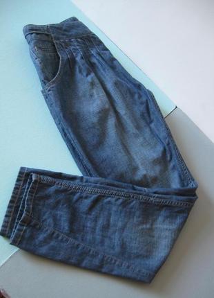 Джинсы -брюки - галифе из тонкого котона