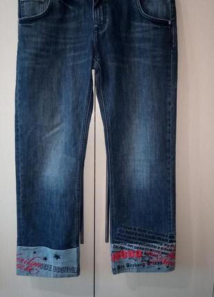 Шикарные джинсы-кропы от iceberg
