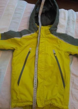 Зимняя куртка hm 5-6 лет