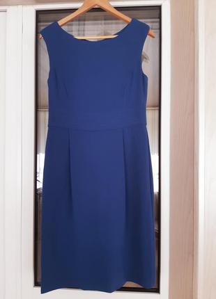 Синее платье hobbs