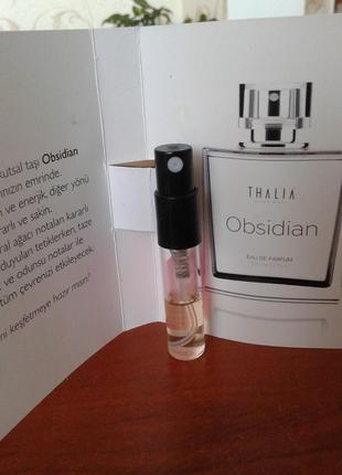Парфюмированный пробник  obsidian от thalia, 1.5ml