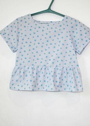 Блуза топ. 100% натуральный хлопок