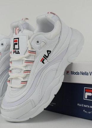 Топ1!распродажа женские кроссовки фила fila ray 36-41 размеры!
