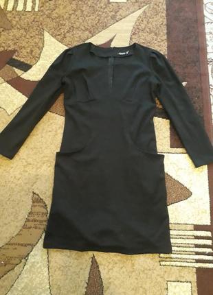 Платье двунитка теплое на осень зиму