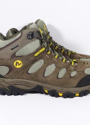 Ботинки merrell размер 42 / 27 см оригинал замша