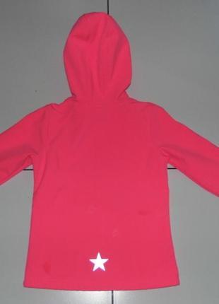 Детская куртка soft shell на флисе -topolino 122 - германия2