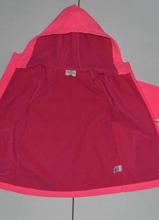 Детская куртка soft shell на флисе -topolino 122 - германия5