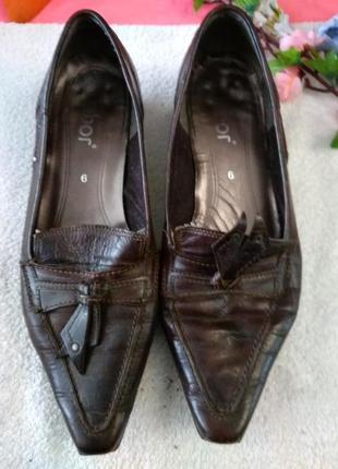Жіночі шкіряні туфлі aga (польща) 4c3ecf69ffc16
