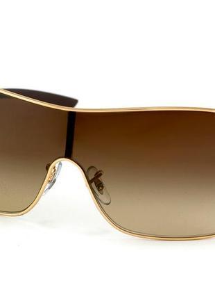 Солнцезащитные стильные очки ray ban rb 3392 001/13 highstreet original