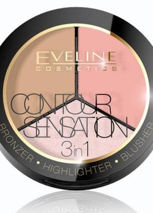 Палитра для макияжа # peach beige