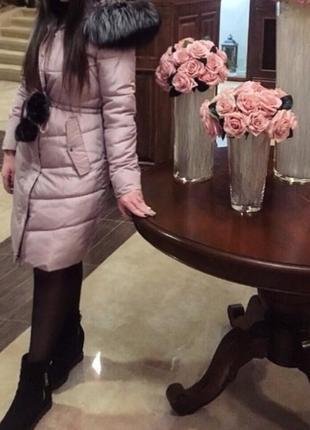 Пуховик,пальто,подовжена зимова куртка