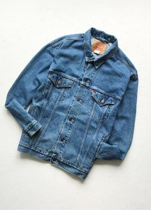 Мужская джинсовая куртка levi's levis levi strauss
