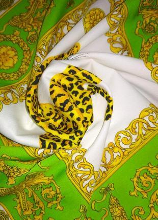 Прекрасный 💯 шелковый шейный платок бандана аксессуар для сумочки