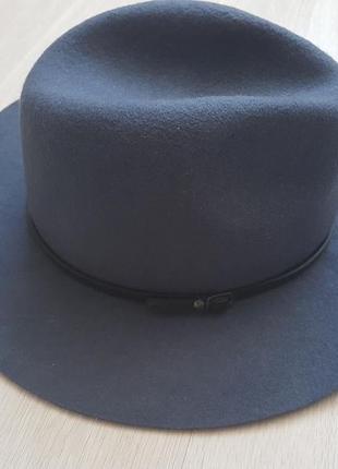 Шляпа шерстяная серая marks&spencer