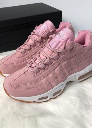 Новые кроссовки nike air max 95 limited pink розовые 36 37 38 39 40