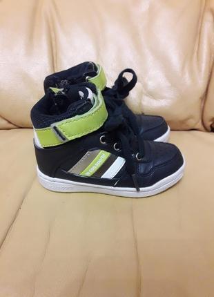 Хайтопы, кроссовки, ботинки французской фирмы le coq sportif us 7,5/ uk 7 / eur 24
