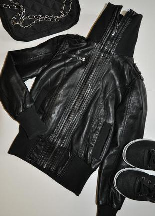 Стильная куртка на широких резинках miss e-vie