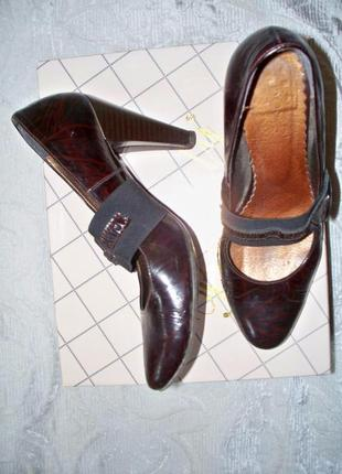 Туфли кожа р-р 38