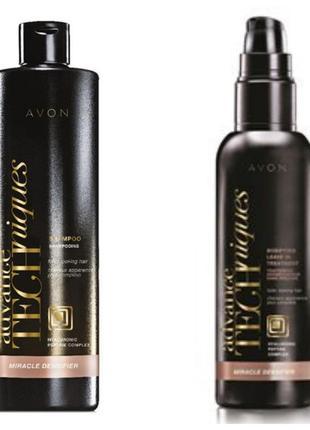 Набор - шампунь и сыворотка для тонких волос