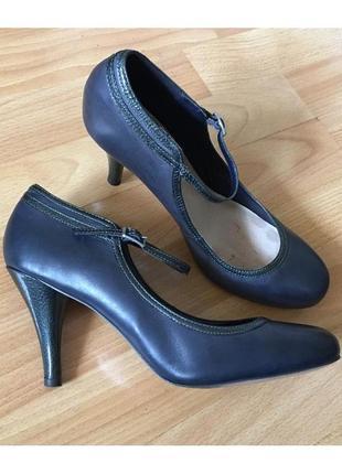 Доступно - стильные туфли *john lewis* uk8 - 26 см - натуральная кожа!