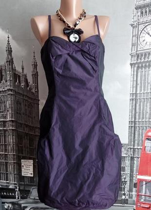 Сукня на бретелях з кишенями
