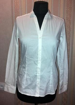 Классическая белая рубашка, м-l
