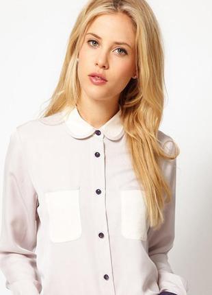 Білосніжна блуза