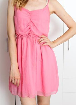 Яркий сарафан, летнее платье шифон