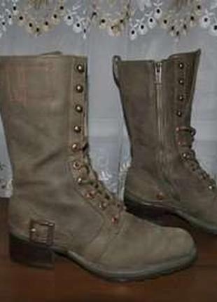 Полусапожки, ботинки женские натуральная кожа