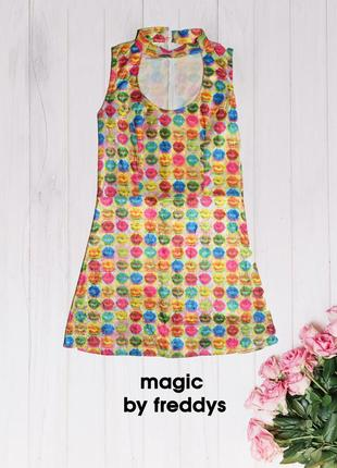 Платье в стиле поп-арт magic by freddys