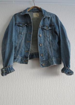 Джинсова куртка h&m