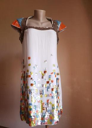 Люкс шикарное платье декор french connection британия